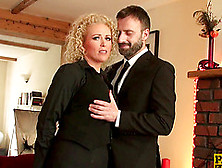 Stunning Rebecca Smyth Seduced By A Kinky Gentleman For An Anal