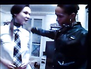 Mistress Columbia Educate Female Stooge