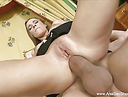 Latina Maid Rough Anal Punishment