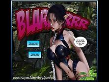 3D Comic: Crimson Sonja.  Episodes 1-2