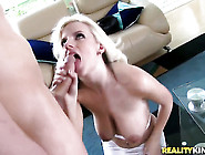 Blonde Haley Cummings Needs Nothing But Chris Johnsons Hard Dick