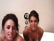 Busty Teen Lesbians Kissing On Webcams