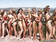 Bikini Pool Party