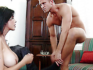 Incredible Sex With The Busty Brunette Shay Sights,