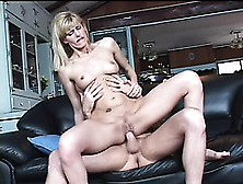 Lusty Fair-Haired Mature Woman Darryl Hanah Gets Her Shaved Cunt