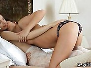 Two Filthy Teenies Zoe And Britney S Kissing And Fondling Pussy