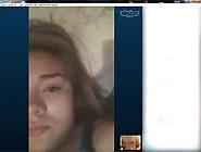 Chica Se Mastrurba Por Skype