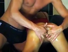 Vaginal And Anal Fist Fuck