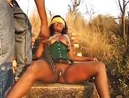 Master Humiliates Sexy Young Ebony