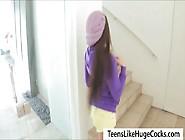 Cutie Teen Lola Foxx Swallows Nasty Cum