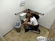 Amateur Slut Gets Fucked In A Bathroom On Hidden Cam