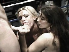Taylor St Claire And Amber Lynn Put Their Blowjob Talents To The
