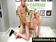 Blonde Hottie Aubrey Gold Fucked Hard During Casting