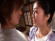 Lustful Japanese Housewife With A Magnificent Ass Seduces A