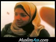 Busty Hijab Chick Caught Getting Fucked