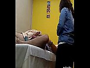 Female Waxing Balls And Dick With Erection