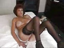 Busty Grandma Sucks And Fucks