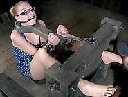 Flexible Maiden Stripped Lovely When Tortured Bdsm Shoot