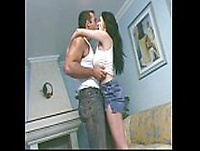 Latina Cock Busty Guy Off With A Lady Fucks Then Sucks----&raquo