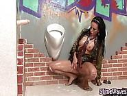 Glamour Hottie Fake Cum Bukkake Shower