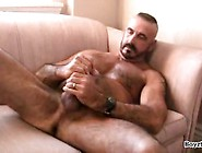 Mature Daddy Jerks Off