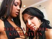 Kapri Styles & Rebecca Linares - Filthy Anal P. O. V #2: Scene #2