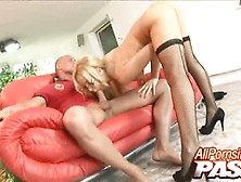 Beautiful Aleska Diamond Haves A Cock Rodeo