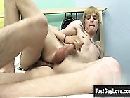 Nude Men Dustin Can't Wait To Feel Miles' Cut Cock Inw