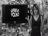 Consolador Dentro De Vagina Puteando A La Presentadora Vaka Yoko
