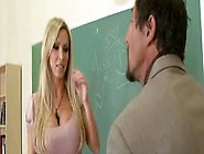 Lucky Teacher Fucks His Smoking Hot Blonde Big Tits Student