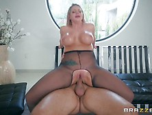 Brooklyn Chase Smashed In Her Oiled Up Butthole