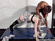Rough Interracial Blowjob And Brutal Drill Sergent Excercises