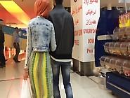 Slow Motion Hijab Ass Candid Voyeur Public