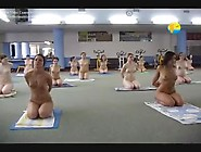 Nude Yoga And Aerobics