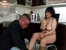 A Cougars Natural Tits Flop And Bounce As She Gets Fucked