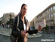 Tourist Abbie Cat Has Casual Anal Sex With Black Dude In Foreign
