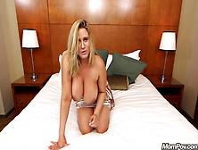 Beautiful Milf Julia Enjoys A Young Cock
