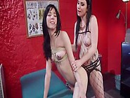 Tattoo Artist Spanks And Anal Fingers Babe
