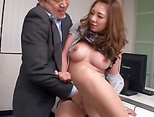 His New Secretary Gives Up Her Pussy On Her First Day