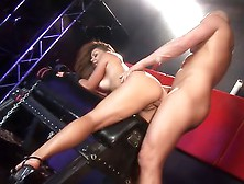 Penny Flame Fucked With A Dildo And Cock