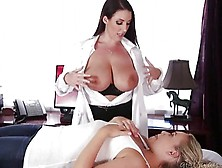 Mia Malkova And Angela White Have Sex