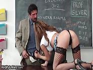 Busty Teen Fucks Teacher And Has Mommy Issues