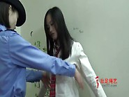 Chinese Girl Gets Frisked And Arrested