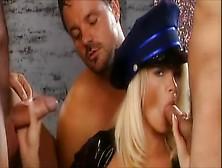 Fabulous Pornstar Nicoletta Blue In Incredible Group Sex,  Facial