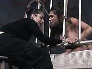 Brunette Slut Nataly Gets Tied Up And Tortured In Bdsm Scene