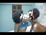 Beautiful Black Oily Lesbians