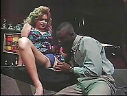 Big Black Dick Fucks Blonde In Bar
