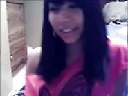 Cute Native Girl On Webcam