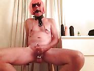 Mouth Locked Nipple Chained Bdsm Slut