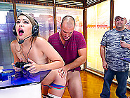 Kimber Really Likes The Video Games But The Cock Is So Much Bett